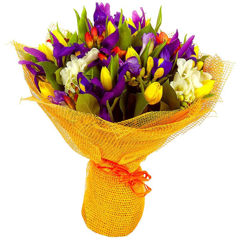 Сентября садовых, эконом букеты на 8 марта