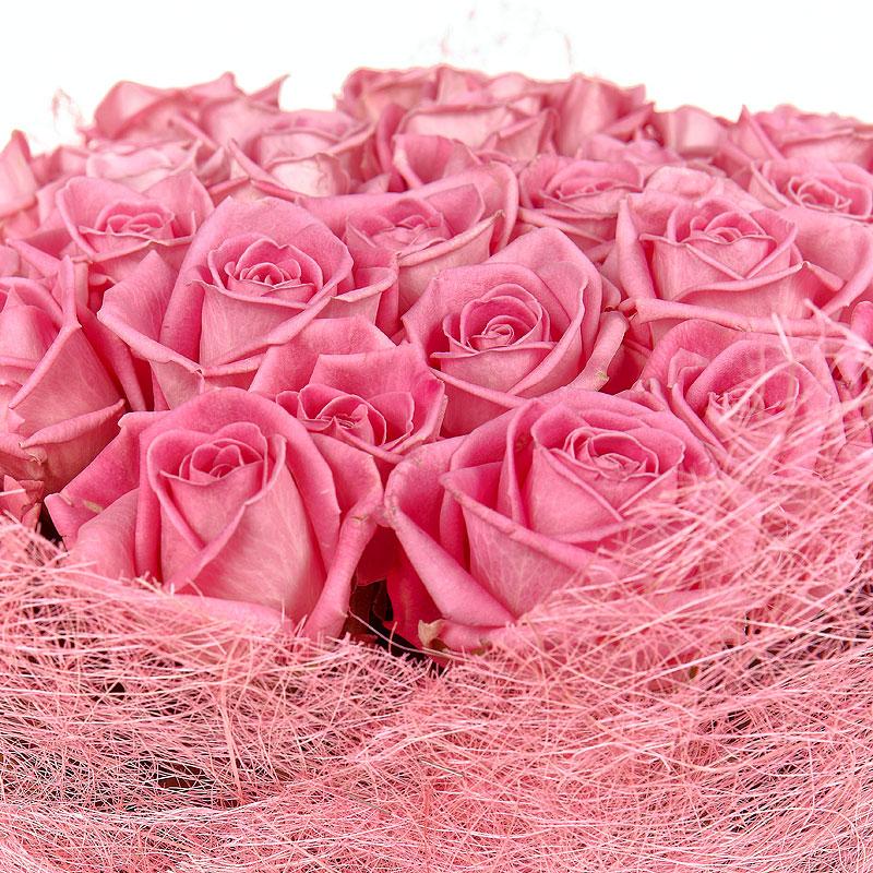 Розы открытка для девушки