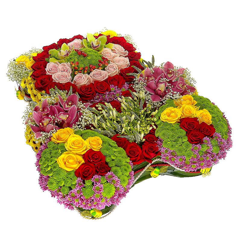 Доставка цветов шарья фазенда