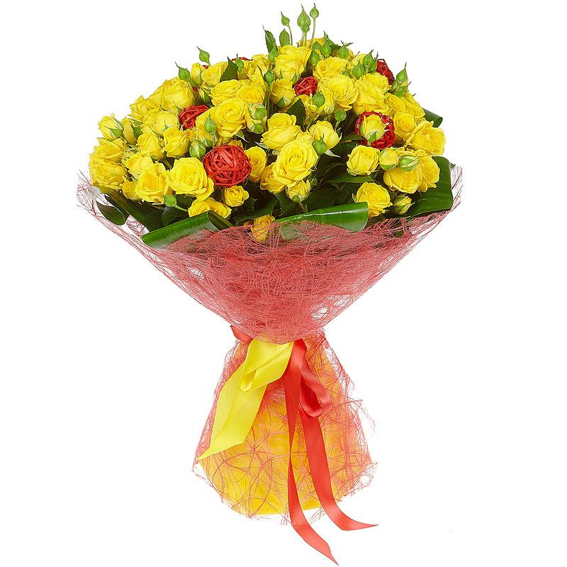 Букет, заказать цветы на адрес от себя